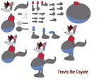 Character Builder Travis The Coyote by DingoFan