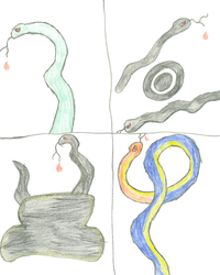 4 More Snakes .. WHEEE by XTomWasNotHereX