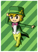 New 3DS Toon Link! by Icy-Snowflakes