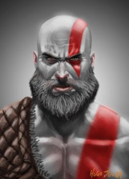 Kratos | Study by Hugo-Souza