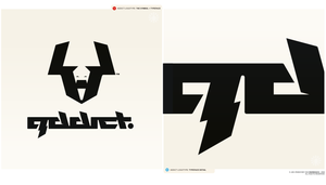 addict logo+type by Raven30412
