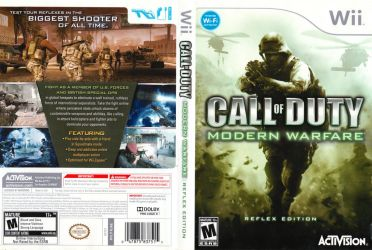Call of Duty Moodern Warfare Boxart (Wii) by dakotaatokad