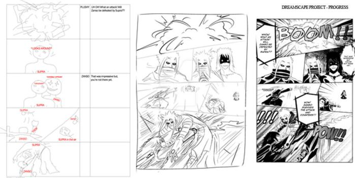 From Storyboard to Manga by dreamscape-studios
