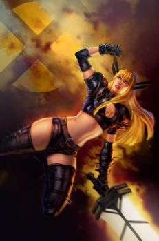 Magik - painted version! by dleoblack