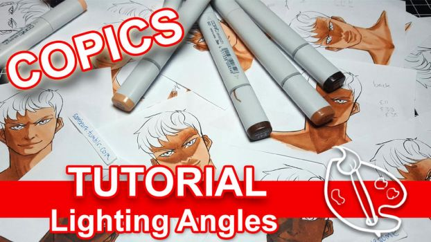 Tutorial: Lighting Angles w Copics (VIDEO) by sambeawesome