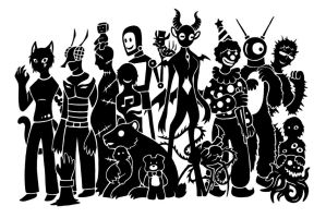 SCP Foundation March Madness Deathmatch by SunnyClockwork