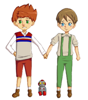 Henry and Randall by MollieHooper