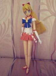 Sailor Venus papercraft by Amber2002161