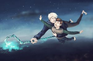 Fly With Me This Frosty Night by trowicia