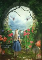 Alice in Wonderland return by Quijuka