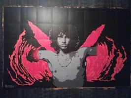 Jim Morrison Wall Mural - 5FT x 8FT - 129.00 GBP by Hodgy-Uk