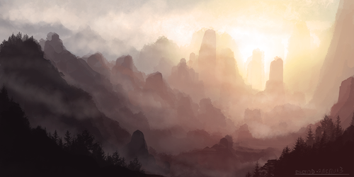 Morning Sun by ehecod