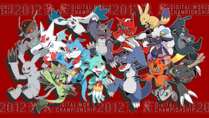 Digimon World Championship 2012 by seiryuuden