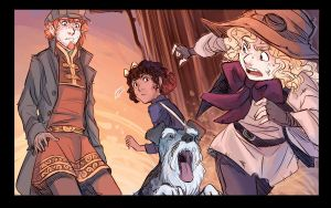 Guttersnipes: Tistow update for 18th of November by ElliPuukangas