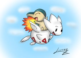 Cyndaquil and Togetic