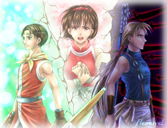 Suikoden II by Hemuvel