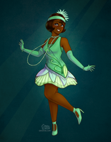 Princess Tiana (Mickey's Royal Friendship Faire) by daisyein