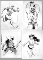 Big Apple Con Sketches by ReillyBrown