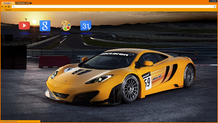 McLaren MP4-12C GT3 - Chrome Theme by secretxax