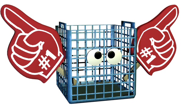Number #1 Crate (Blender) by NeeTroo