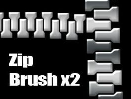 Photoshop Zip Brush (CS3) by Reitheia