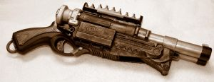 Steampunk Nerf Barrel Breaker2 by JohnsonArmsProps
