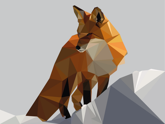 Fox Low Poly by LucSales