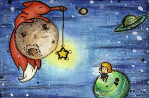 le petit prince- fishing by kailavmp