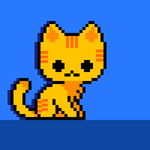 Pixel Tabby Cat by YellowFog4