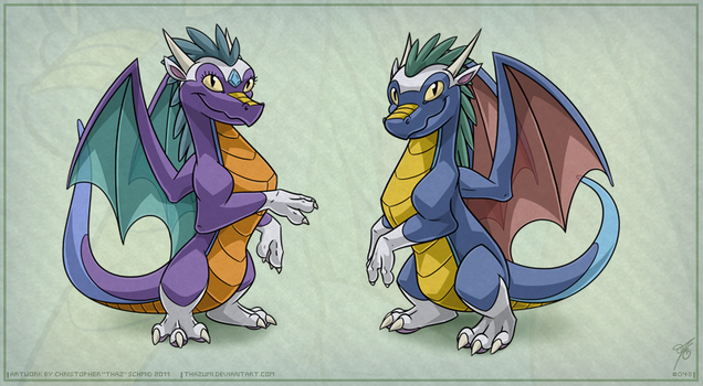 OviPets Draconis Species by thazumi