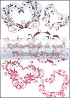 ornamental brushes set 3 by Etoile-du-nord