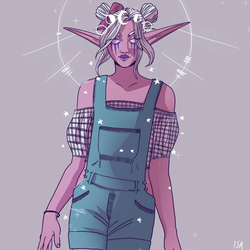 overalls by Lecoulte