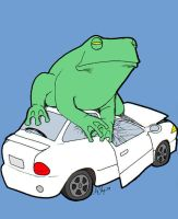 Frogger by squid-