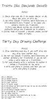 30 Day Drawing Challenge/Spanish Studying Tool Yay by MeowMix72