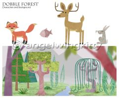 Dobble Forest by angelwingkitty