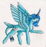 Art Trade with CrazyDragonLady09811 by Return-To-Energiser