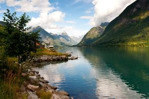 Fjaerland in Norway by Dissyng22