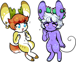 off-base Fawnaroos (closed!) by tontoh
