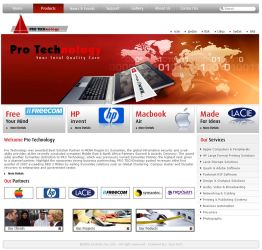 Pro Technology Web Home Page by bluemp