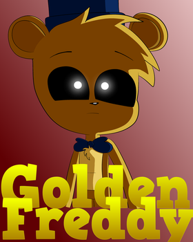 Golden Freddy Poster by Lafergas