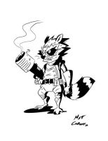 Marvel Madness: Rocket Raccoon by MattCarberry