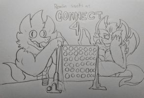 Connect 4 Meme by KERNOS-WITHERNBAT