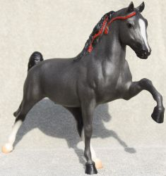Breyer Midnight Sun - Stock 3 by Lovely-DreamCatcher