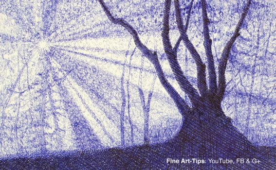 How to Draw a Tree and Forest With Pen and Ink by ArtistLeonardo