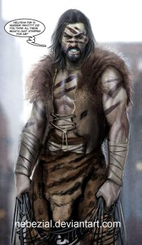 kraven the hunter hellz to the yeah by nebezial