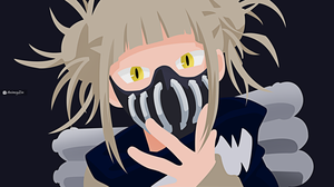 Minimalistic Himiko created by AnimeyZin(Withh Zin by AnimeyZin