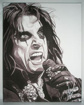 Alice Cooper by esyre