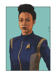 Women of Star Trek (01) - Michael Burnham (DSC) by Dahkur