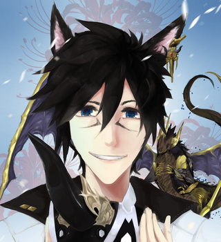 [G] Catboy with Summoner head dong by VeritasU