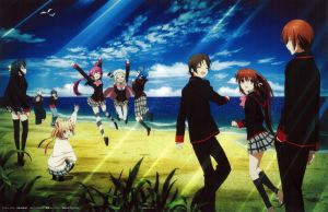 Little Busters! ~Refrain~ BD Vol.7 Case Cover by SquallEC